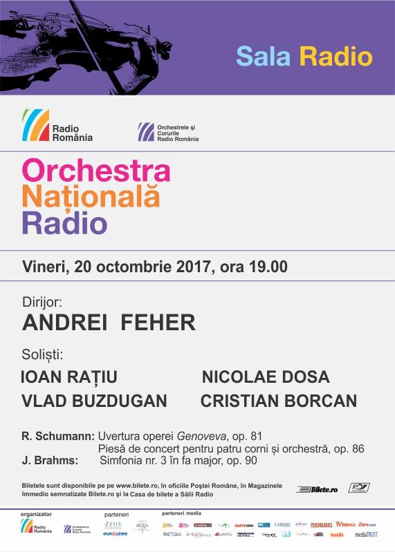 ANDREI FEHER – ORCHESTRA NAŢIONALĂ RADIO