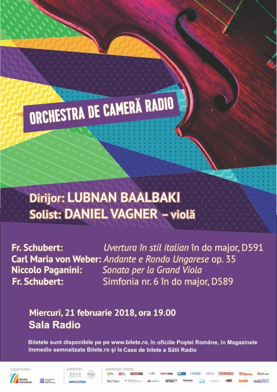 ORCHESTRA DE CAMERĂ RADIO – LUBNAN BAALBAKI