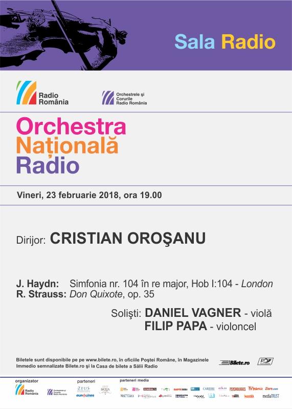 ORCHESTRA NAŢIONALĂ RADIO – Strauss, Haydn