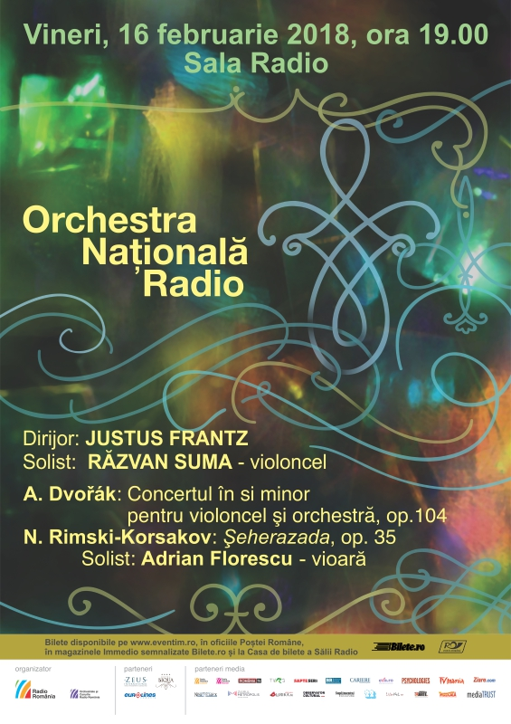 JUSTUS FRANTZ – RĂZVAN SUMA – ORCHESTRA NAŢIONALĂ RADIO