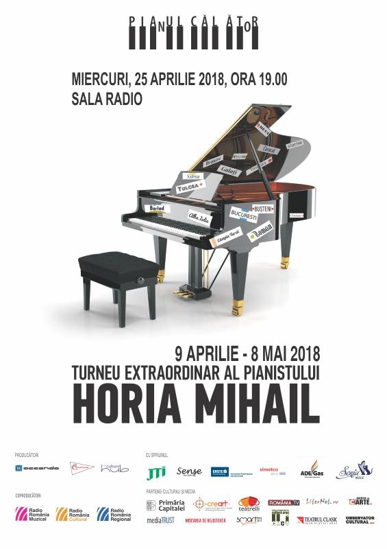 HORIA MIHAIL – PIANUL CĂLĂTOR