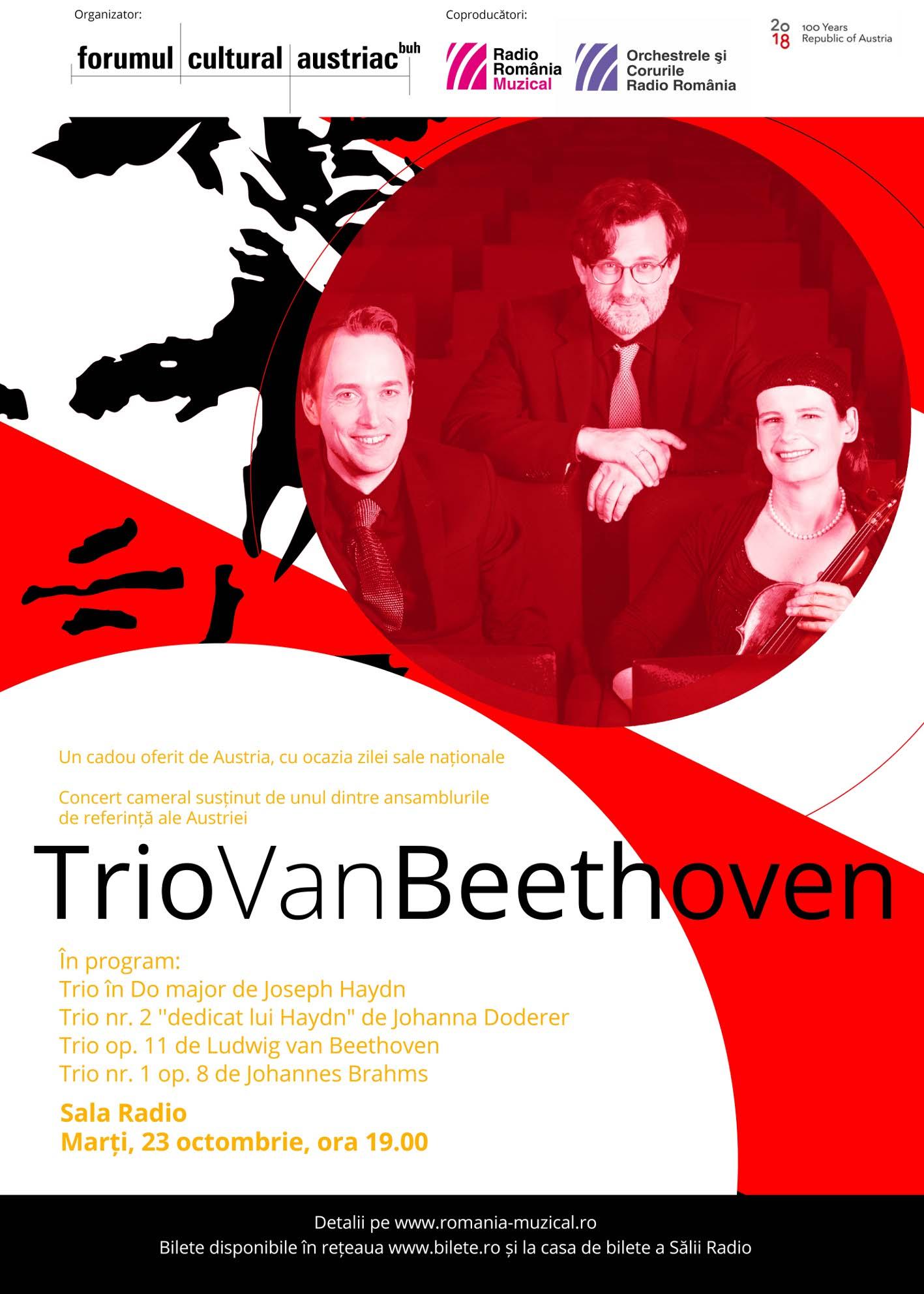 Trio vanBeethoven – Recital