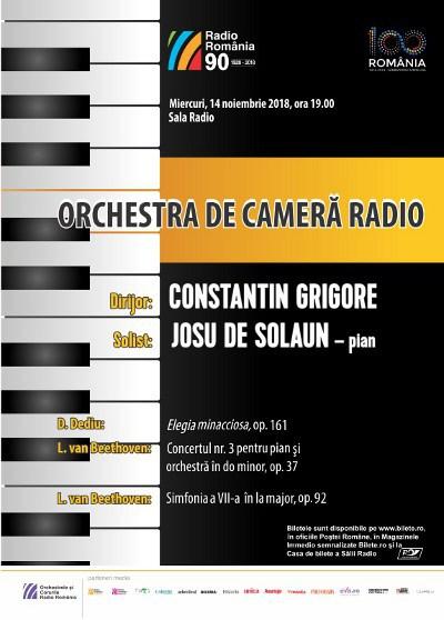 ORCHESTRA DE CAMERĂ RADIO- JOSU DE SOLAUN