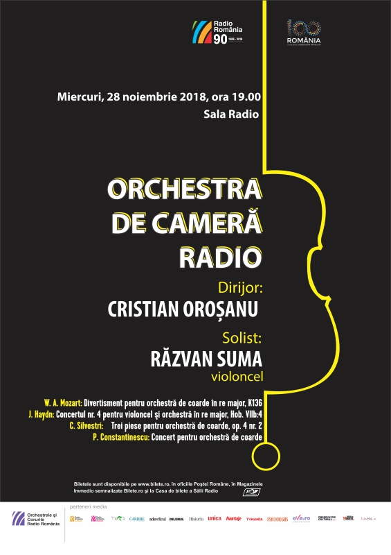 RĂZVAN SUMA – CRISTIAN OROŞANU – ORCHESTRA DE CAMERĂ RADIO