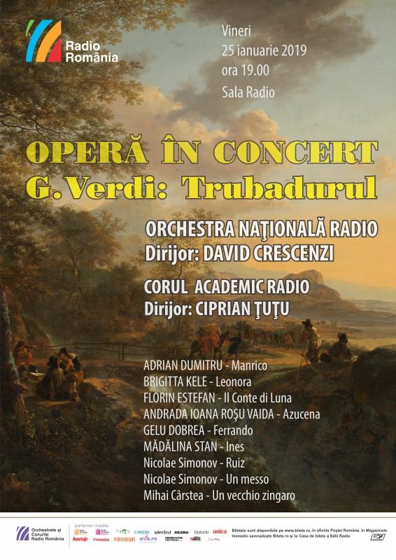 OPERĂ ÎN CONCERT - Trubadurul – Verdi