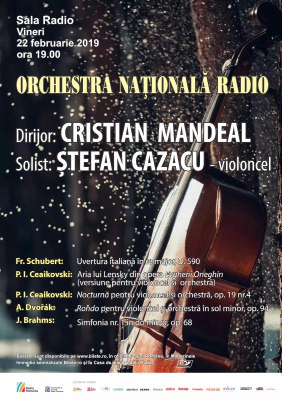 CRISTIAN MANDEAL- ŞTEFAN CAZACU- ORCHESTRA NAŢIONALĂ RADIO