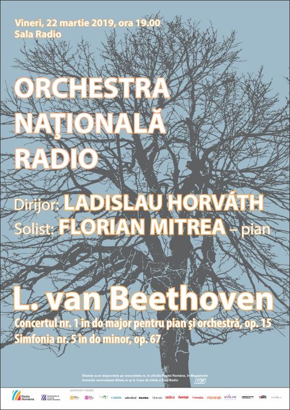 Florian Mitrea – Beethoven 100% – ORCHESTRA NAŢIONALĂ RADIO