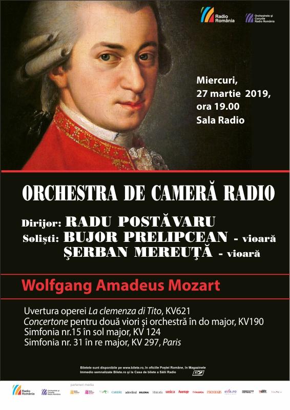 ORCHESTRA DE CAMERĂ RADIO – 100% Mozart