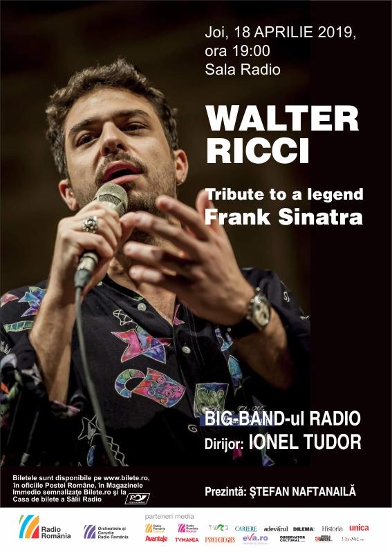 WALTER RICCI – BIG BAND RADIO – Tribute to a legend: Frank Sinatra