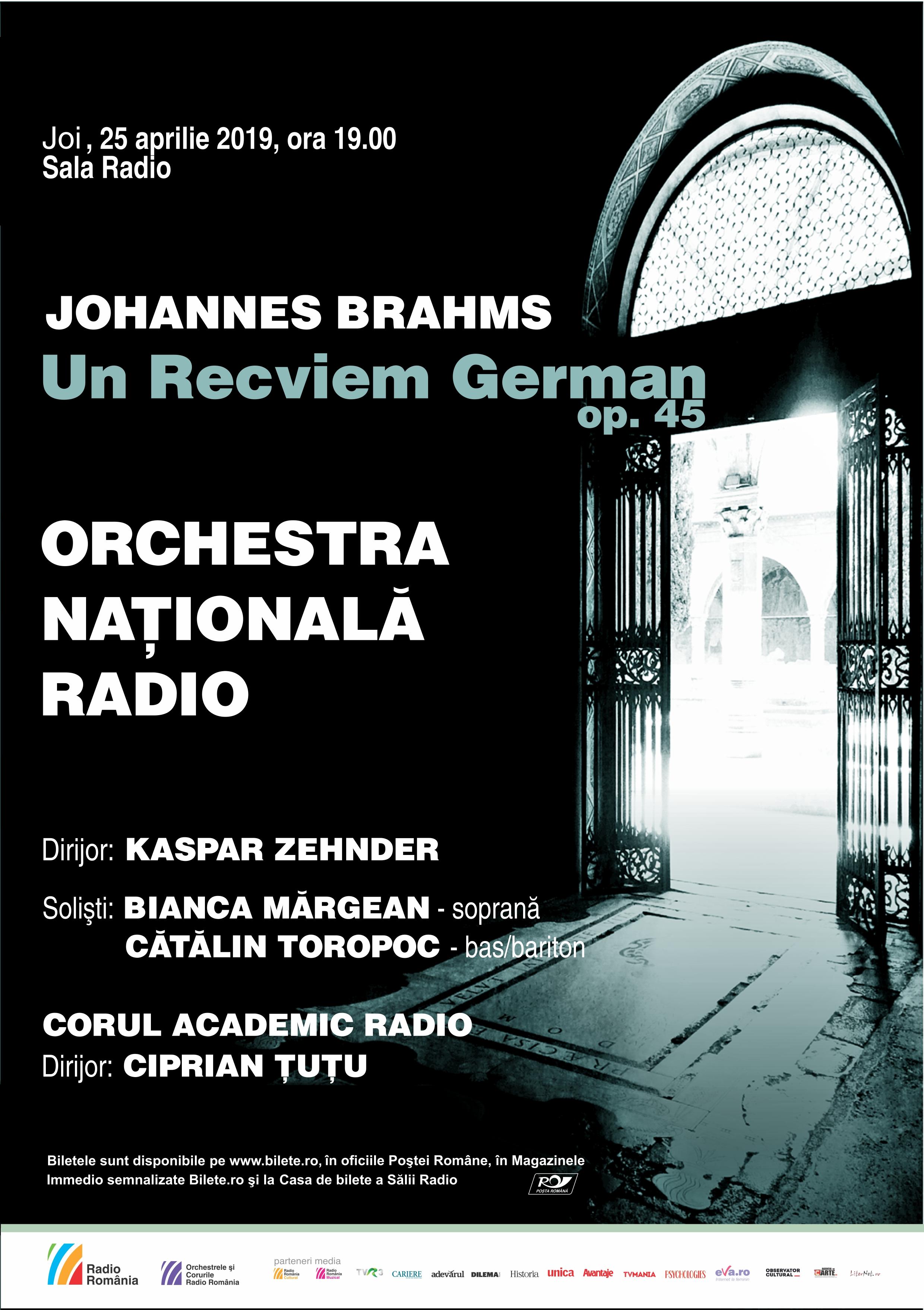Brahms – Recviem – ORCHESTRA NAŢIONALĂ RADIO