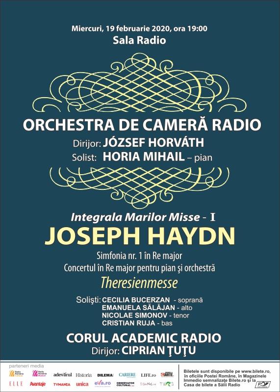 HORIA MIHAIL- ORCHESTRA DE CAMERĂ RADIO- Haydn 100%