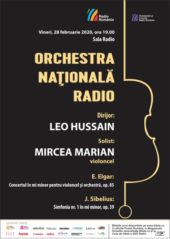 LEO HUSSAIN-ONR- Elgar, Sibelius