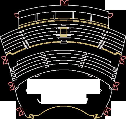Plan Numerotare Locuri Sala